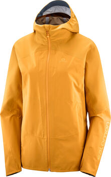 Salomon Outline Hardshelljacke  Damen Gelb