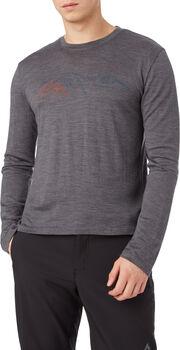 McKINLEY Fitz shirt à manches longues Hommes Gris