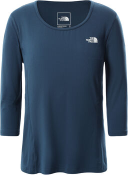 The North Face Hikesteller 3/4 T-Shirt Damen Blau