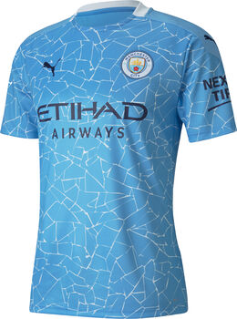 Puma Manchester City 20/21 Home Replica maillot de football Hommes Bleu