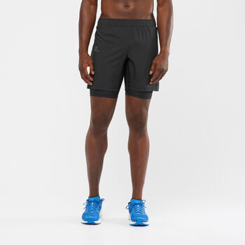 Salomon XA Twinskin short de running Hommes Noir