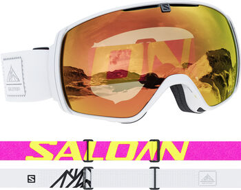 Salomon XT One Photochromic Sigma Skibrille Weiss