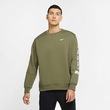 Nike Sportswear Repeat Crew sweatshirt Hommes Brun