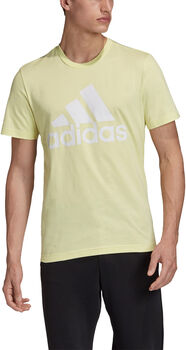 adidas MH BOS T-Shirt Hommes Jaune