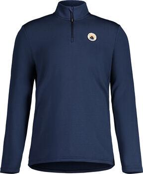 Maloja CesarM. T-Zip langarm Shirt Herren Blau