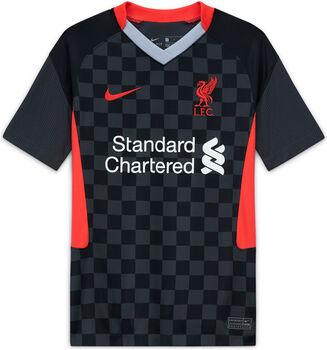 Nike FC Liverpool Breathe Stadium 3R Fussballtrikot Schwarz