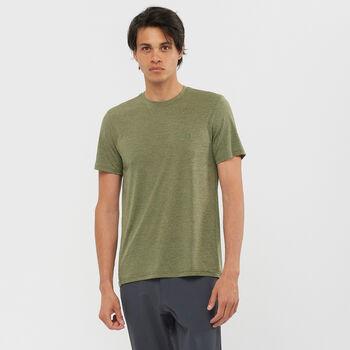 Salomon Explore Pique t-shirt Hommes Vert