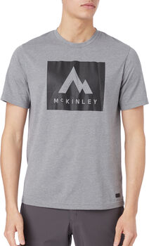 McKINLEY Krassa T-Shirt Herren Grau