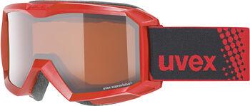 Uvex Flizz LG Skibrille Rot