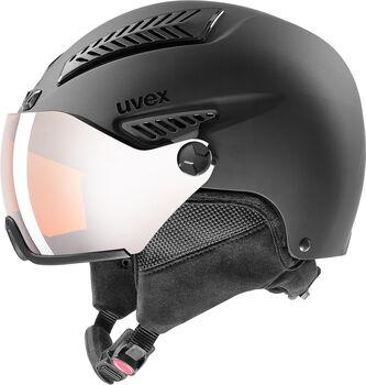 Uvex 600 Visor Casque de ski Noir