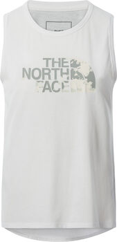 The North Face Foundation Graphic tanktop Femmes Blanc