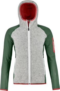 ORTOVOX Fleece Plus ClassicKnit Hoody Damen Grün