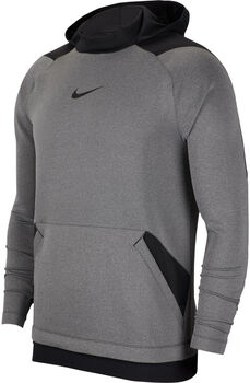 Nike PRO Fleece Hoody Herren Grau