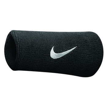 Nike Accessoires Doublewide Schweiss-Armband Schwarz