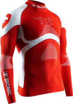 X­-BIONIC® Energy Accumulator 4.0 Turtleneck shirt fonctionnel à manches longues Hommes Rouge