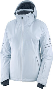 Salomon THE BRILLIANT veste de ski Femmes Blanc