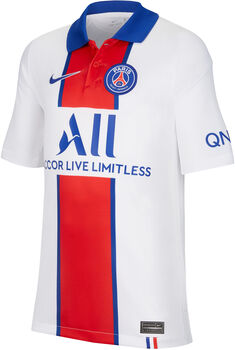 Nike PSG 20/21 Stadium Away maillot de football Blanc