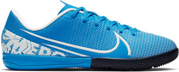 Nike JR VAPOR 13 ACADEMY IC Fussballschuh Indoor Blau