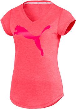 Puma Heather Cat t-shirt de training  Femmes Noir