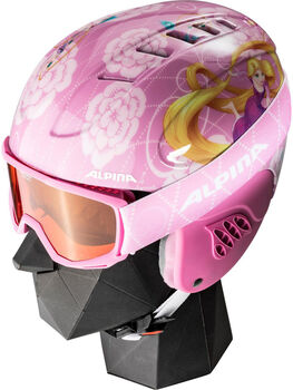ALPINA Carat Disney Set Skihelm Pink