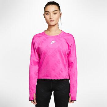Nike AIR Laufshirt langarm Damen Pink