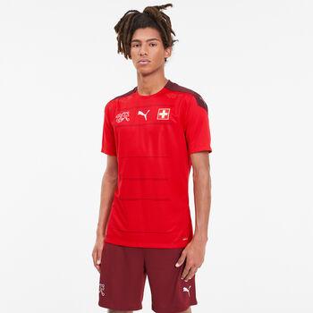 Puma SFV Schweiz Nati Home Promo Fussballtrikot Herren Rot