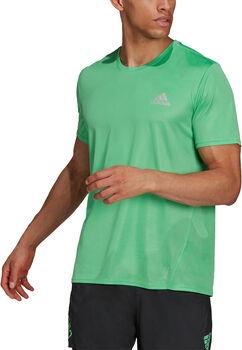 adidas Fast Primeblue haut de running Hommes Vert