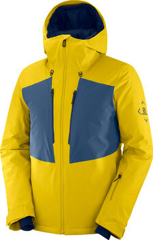 Salomon Highland Skijacke Herren Gelb