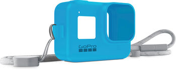 GoPro Sleeve + Lanyard Blau