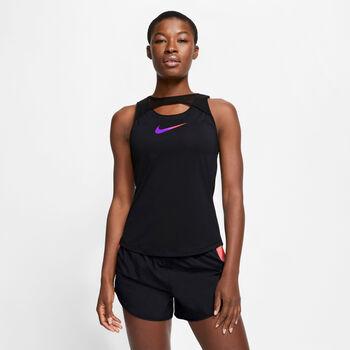 Nike Runway Tank Top Damen Schwarz