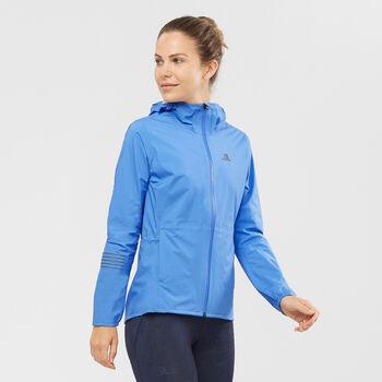 Salomon LIGHTNING 2.5 Lagen Jacke Damen Blau