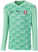 SFV Schweiz Nati GK Fussballtrikot langarm