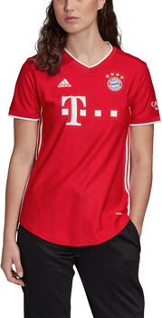 adidas FC Bayern München Home Fussballtrikot Damen Rot