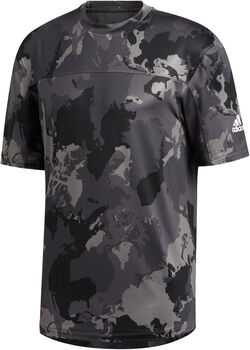 adidas Continent Camo City T-Shirt Herren Grau