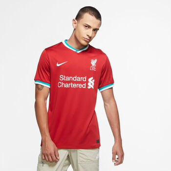 Nike FC Liverpool 20/21 Stadium Home maillot de football Hommes Rouge