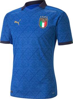 Puma Italia Home Authentic Maillot de football Hommes Bleu