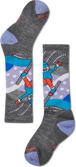 Wintersport Yetti Betty Socken