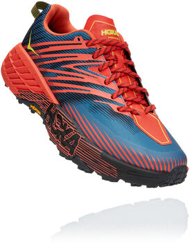 Hoka One One Speedgoat 4 Sky Chaussure de trailrunning Hommes Rouge