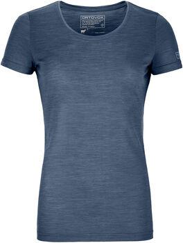 ORTOVOX 120 COOL TEC WOOD t-shirt Femmes Bleu