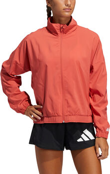 adidas Woven Badge of Sport Trainingsjacke Damen Rot