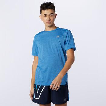 New Balance Impact haut de running Hommes Bleu