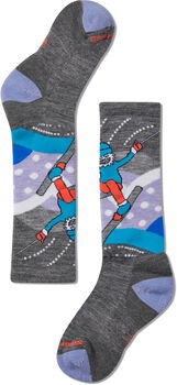Smartwool Wintersport Yetti Betty Chaussettes Gris
