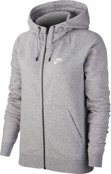 Nike Essential Sweat à capuche polaire Femmes Gris