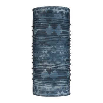 Buff Tzom Foulard à tuyau Bleu