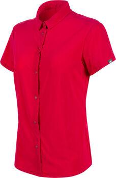 MAMMUT Trovat Light Wanderhemd kurzarm Damen Pink