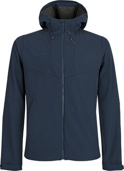 MAMMUT Sapuen SO Hooded Softshelljacke Herren Blau