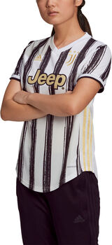 adidas Juventus Turin Home Fussballtrikot Damen Weiss