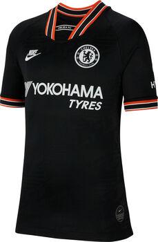 Nike FC Chelsea Breathe Stadium 3R Fussballtrikot Jungs Schwarz