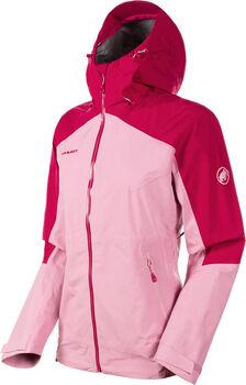 MAMMUT Convey Tour HS Hooded Wanderjacke Damen Pink
