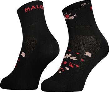 Maloja WeißmoosM. Socken mittelang Schwarz